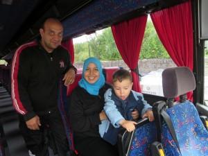 Abreise der ersten Familien am 18.08.